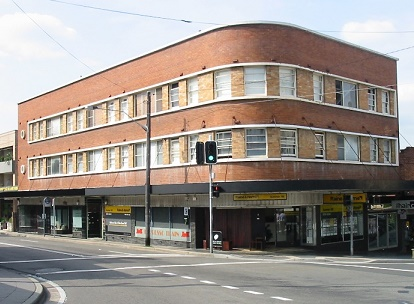 Shops and flats at Summer Hill