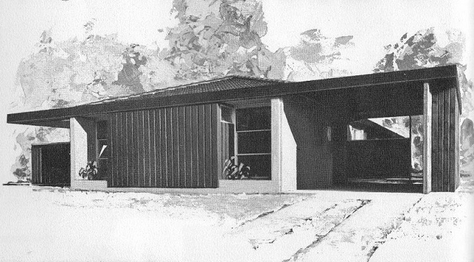Unitary House by Walter G Embleton 1967