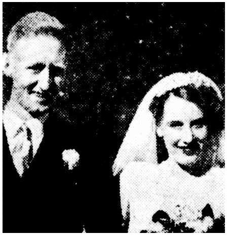 Peter and Betty Hooks 1947