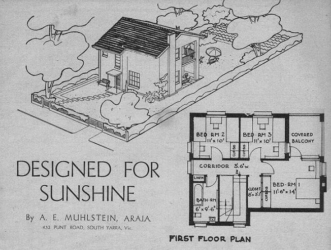 Sun Post-War House 1944