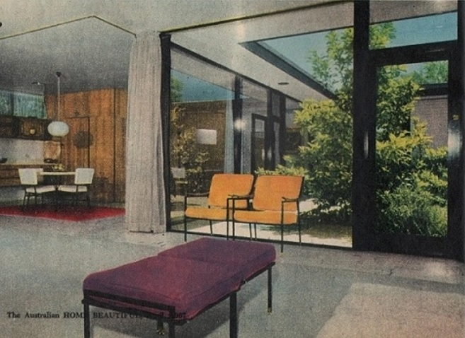 A R van Rompaey own house at Camberwell 1966